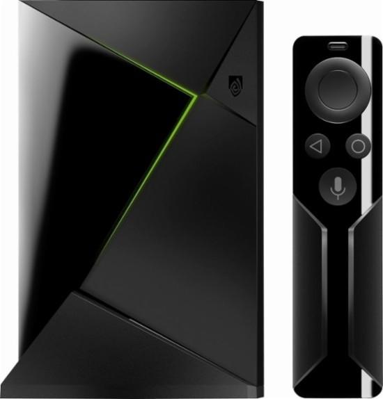 Nvidia Shield TV with remote