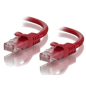 1.0m Cat6 Network Cable Red