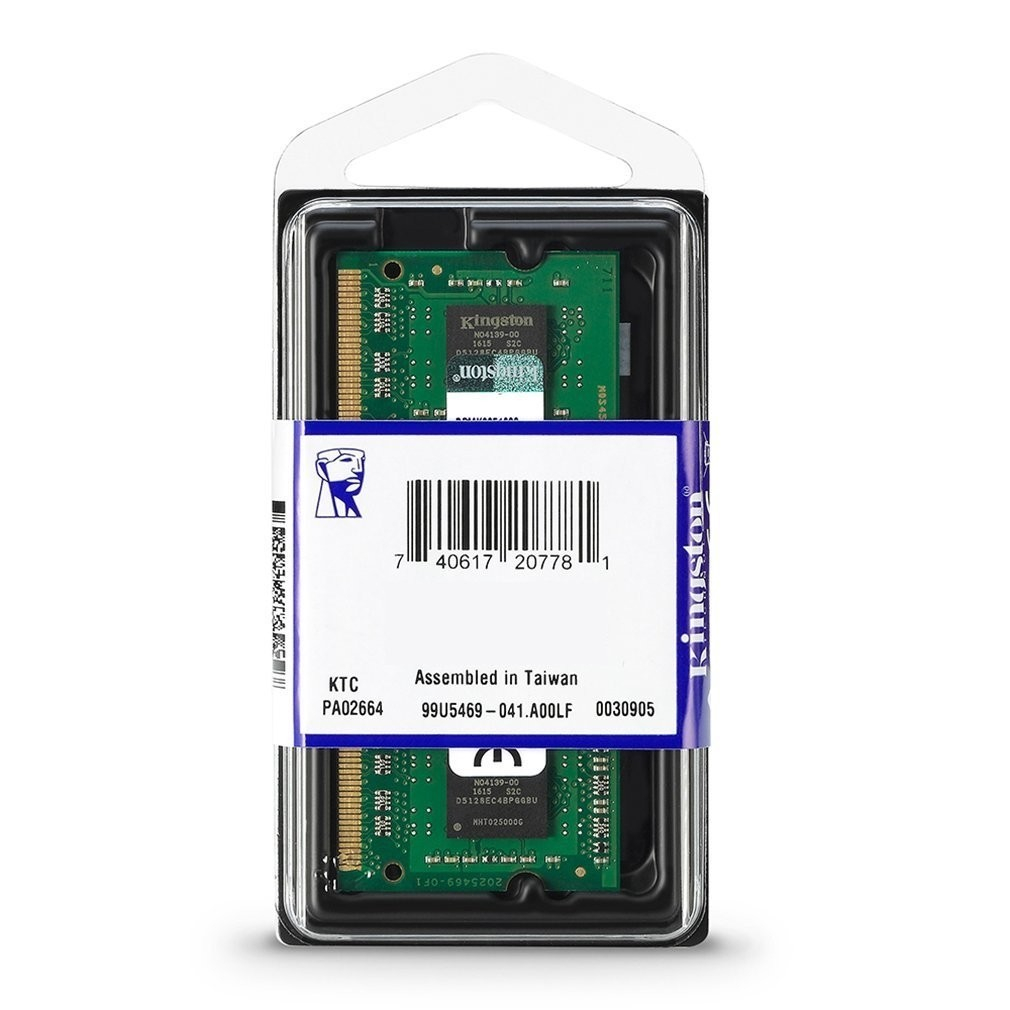 Kingston KCP316SD8/8 8GB DDR3 SODIMM 1600Mhz CL11