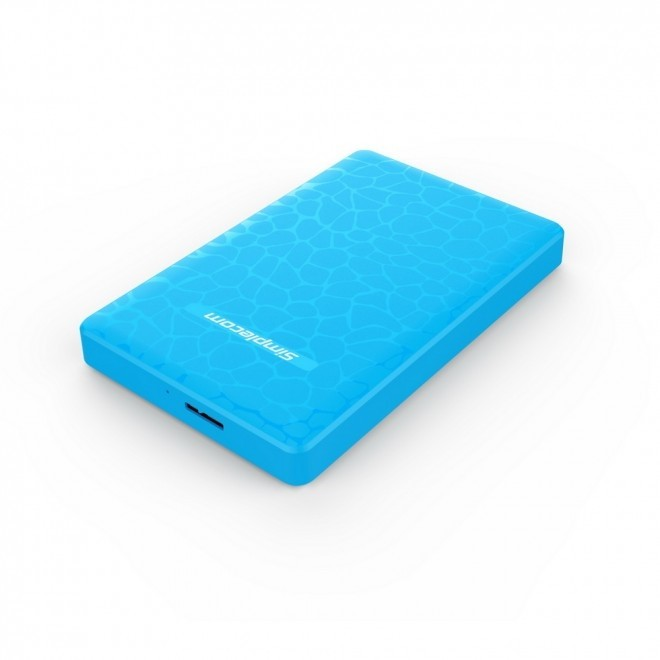 "Simplecom SE101 Blue 2.5"" SATA, USB 3.0 Enclosure"