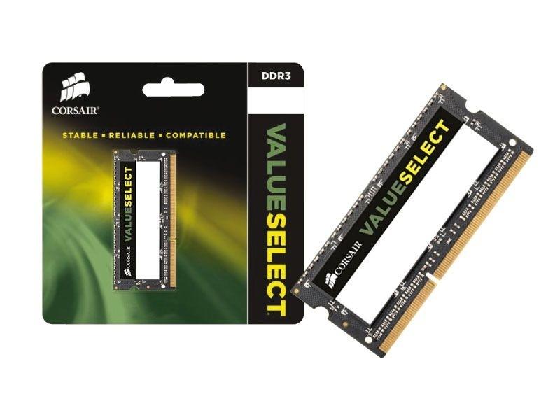 Corsair CMSO8GX3M1C1600C11 8GB DDR3 SODIMM 1600Mhz CL11