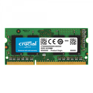 Crucial ct51264bf160bj 4GB DDR3 SODIMM 1600Mhz CL11